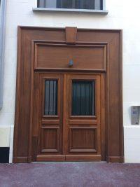 Porte d'entrée Songe d'une ville d'été
